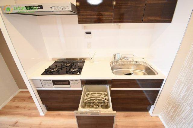 食洗機付きのキッチン!