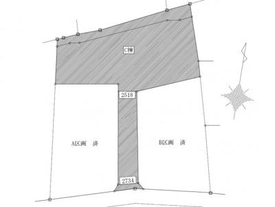 【区画図】大森町C棟