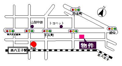 【地図】志村駐車場