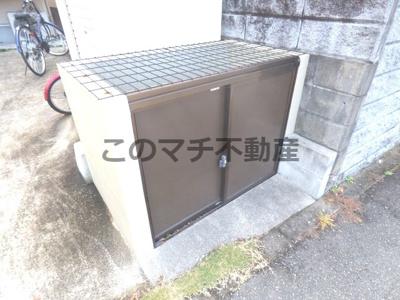 敷地内ゴミ置き場