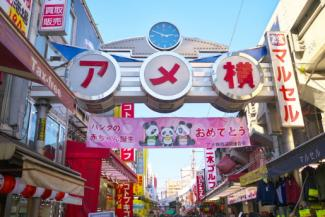 アメ横 上野の賃貸物件。 「ログ上野駅前」のことなら(株)メイワ・エステートへ