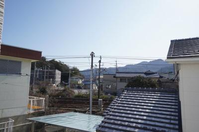 【厳島!!】 眺望は、宮島の寝観音を見る事が出来る景色! なんとなく、毎日ご利益がありそうですね!