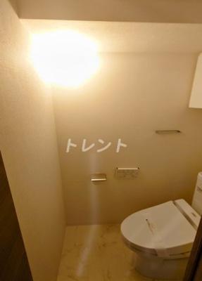 【トイレ】パークナードフィット新富町