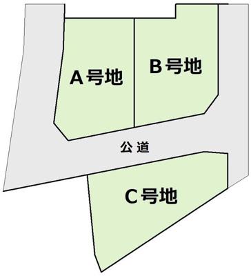 【区画図】須磨寺町1丁目 新築一戸建(B号地)