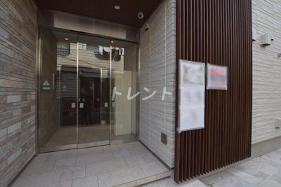 【エントランス】ブランピエール早稲田