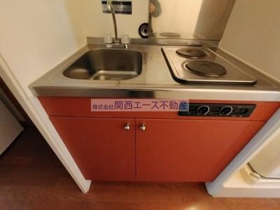 【キッチン】レオパレスプレミールⅡ