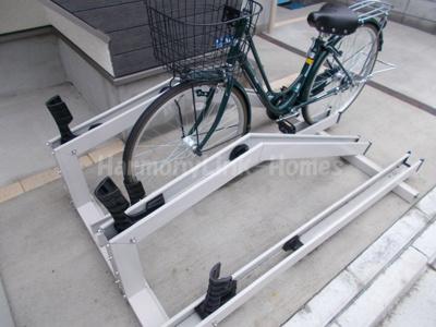 グランシャリオ金町の駐輪スペース