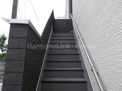グランシャリオ金町の階段