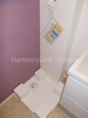 グランシャリオ金町の室内洗濯機置き場