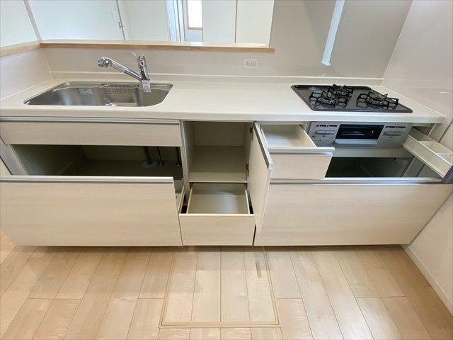 【キッチン】新築一戸建て「小田原市小台第13(Ⅱ期)」全6棟/残4棟