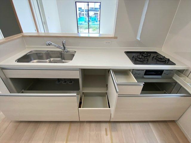 【キッチン】新築一戸建て「開成町中之名第10」全2棟/残2棟