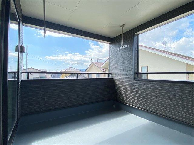 【バルコニー】新築一戸建て「開成町中之名第10」全2棟/残2棟