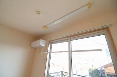 室内物干しフック・エアコン
