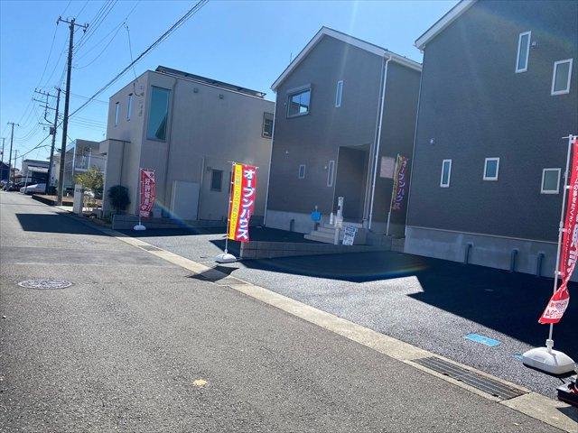 【前面道路含む現地写真】新築一戸建て「南足柄市沼田第9」全2棟/残2棟