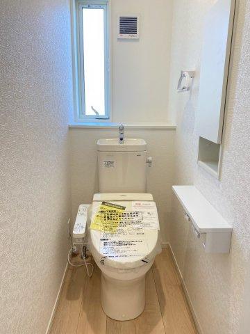 トイレ収納付き