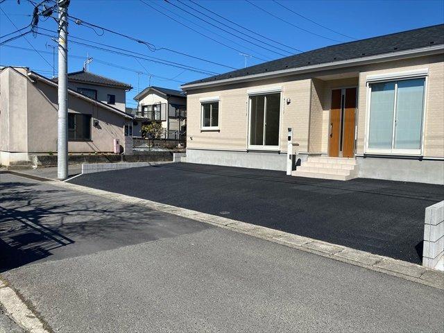 【前面道路含む現地写真】新築一戸建て「小田原市下堀第2」全1棟