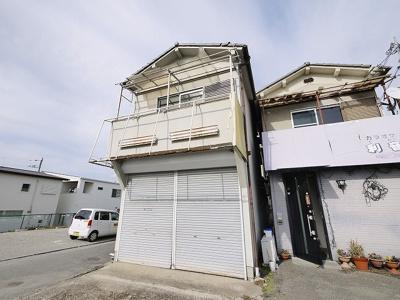 【外観】南京終町3丁目店舗付住宅