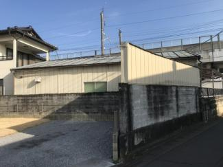 【外観】小山市羽川 事務所兼居宅
