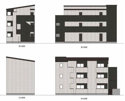 【外観】タテルアパートメント足立区梅田4丁目