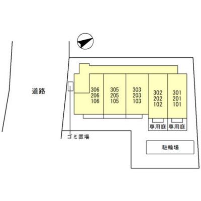 【区画図】タウンコート上木崎