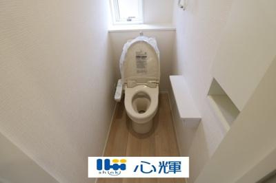 【トイレ】クレイドルガーデン 山口市吉敷佐畑 第1(1号棟)