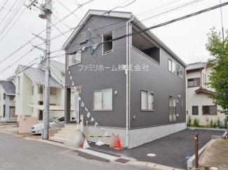東金市田間 新築一戸建 施工例です。