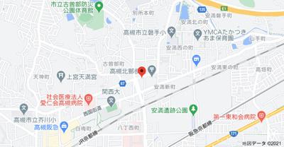 【地図】別所ハイツ (株)Roots