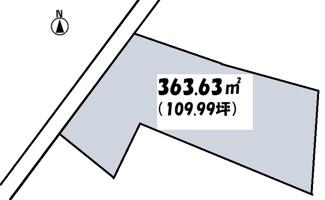 【土地図】高崎市高関町売地