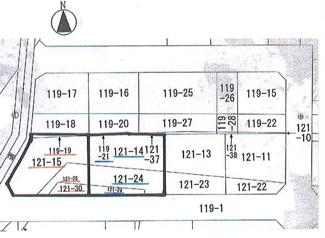 【土地図】鶴ヶ島市三ツ木 資材置き場用地 「若葉駅」徒歩32分 敷地103坪