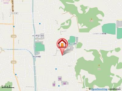 【地図】ローズコート