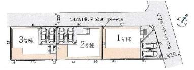 【区画図】新築戸建/川越市大字木野目