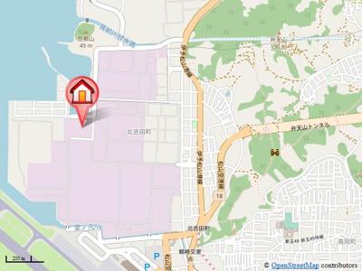【地図】カーサ・ソーレ