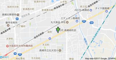 【地図】コンフォートグリーン (株)Roots
