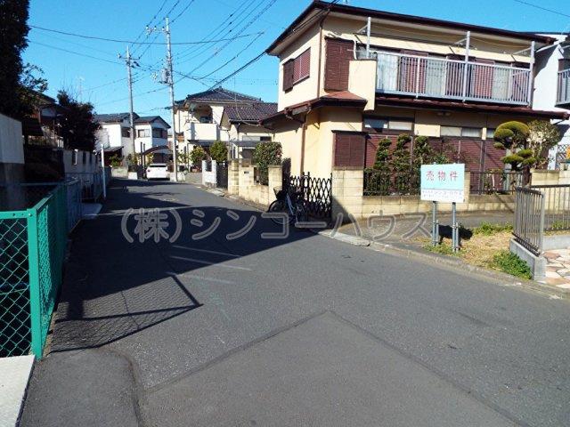【前面道路含む現地写真】久喜市本町8丁目 売地