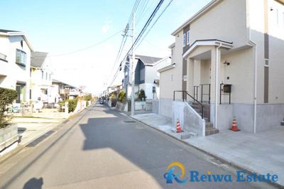 【前面道路含む現地写真】新築戸建 茅ヶ崎市堤