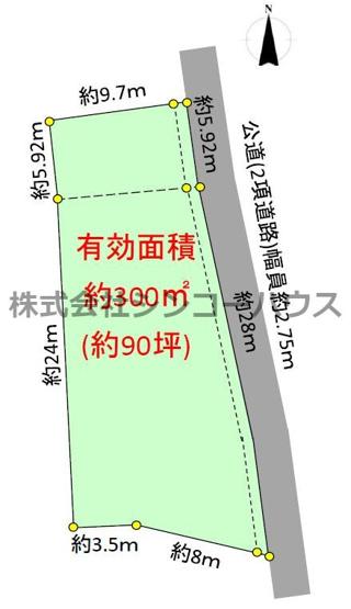 【土地図】加須市南篠崎