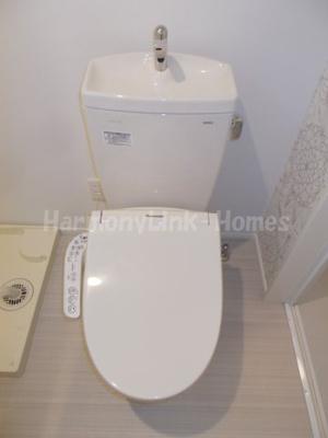 アーク東立石のコンパクトで使いやすいトイレです☆