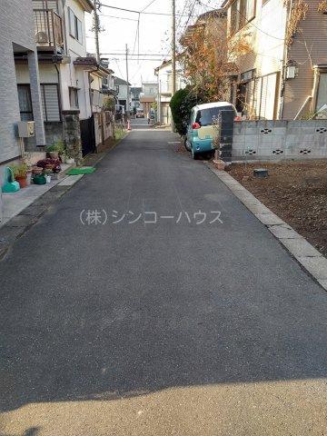 【前面道路含む現地写真】岩槻区日の出町 売地