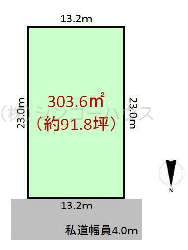【土地図】那須 ロイヤルバレー別荘地