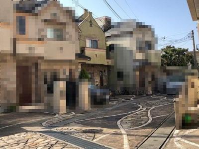 【前面道路含む現地写真】神戸市垂水区山手1丁目 中古戸建