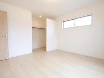個人の部屋や寝室として使える洋室です:建物完成しました♪吉川新築ナビで検索♪
