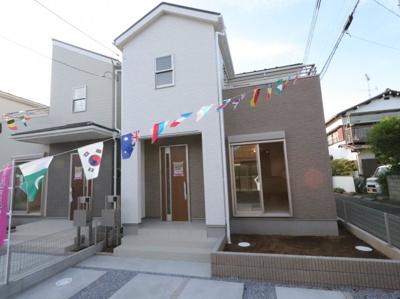 外観です:建物完成しました♪吉川新築ナビで検索♪