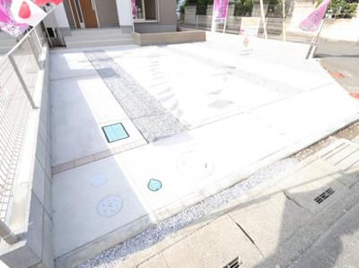 駐車場です:建物完成しました♪吉川新築ナビで検索♪