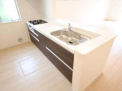 キッチンでお料理をお楽しみください:建物完成しました♪吉川新築ナビで検索♪