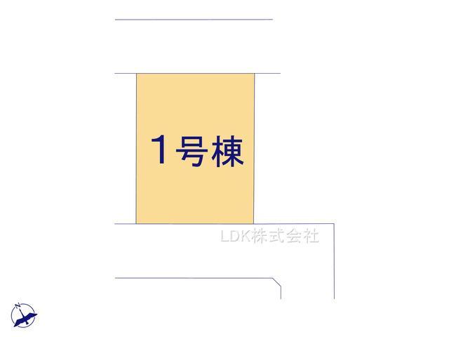 【区画図】新築戸建/富士見市鶴馬3丁目(全1棟)