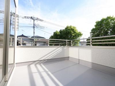バルコニーがあります:建物完成しました♪吉川新築ナビで検索♪