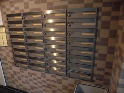 新千葉小川マンションのメールボックス