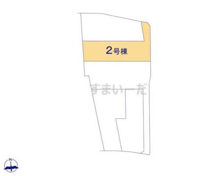 【区画図】クレイドルガーデン倉敷市児島唐琴第1 3号棟