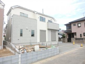 八千代市大和田新田 新築一戸建 外観施工例です。