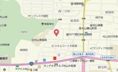 【地図】ヴァレーレ喜与町